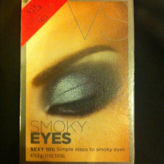 Love this VS simple step to smokey eyes value kit.