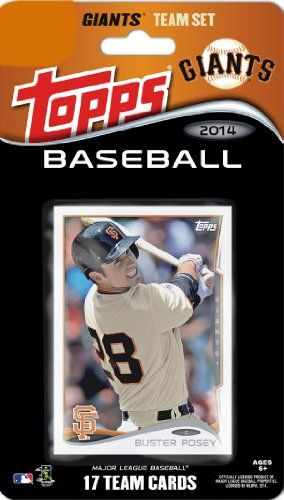 2014 Topps San Francisco Giants Factory Sealed Special Edition 17 Card Team Set with Buster Posey, Tim Lincecum Plus   Your #1 Source for Sp...