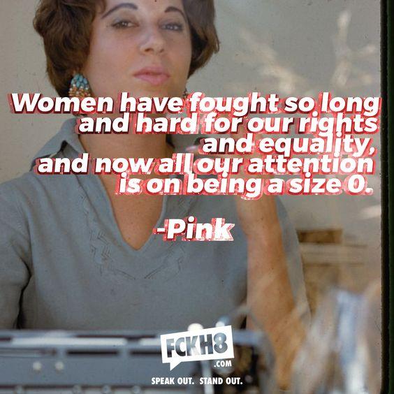 #FCKH8 #FEMINIST #FEMINISM #WOMEN #YESALLWOMEN #WORTH #SELFWORTH #LOVE #FASHION
