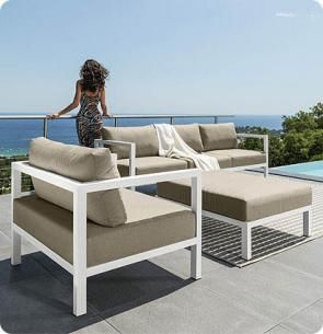 Talenti are an italian design company specialising in high for High end outdoor furniture