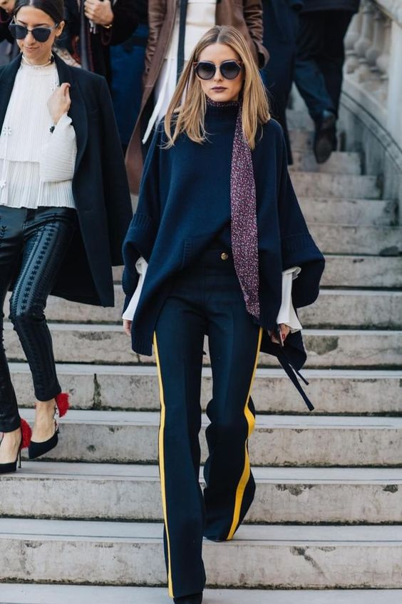 #OliviaPalermo #StreetStyle - F/W 2017 Paris Fashion Week