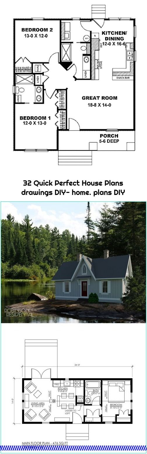 32 Quick Perfect House Plans Drawings Diy Home Plans Diy