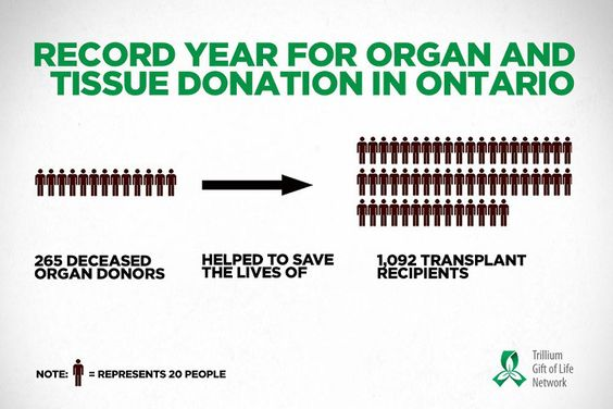 how to become an organ donor in ontario