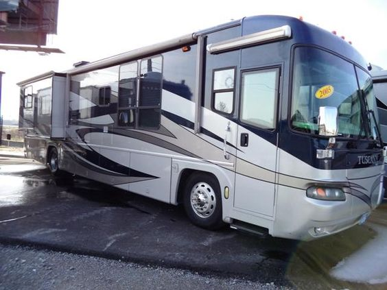 Used 2005 Damon Tuscany Class A Diesel Motorhomes For Sale In