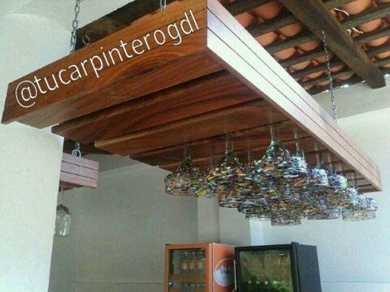 Porta copas en restaurant bar en pto vallarta quincho for Copas y vasos para bar