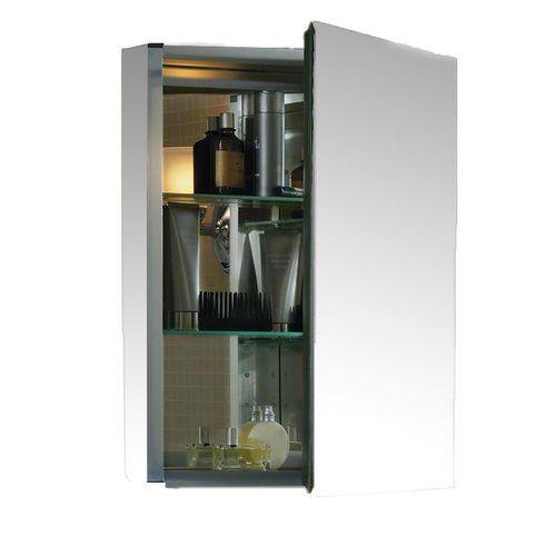 "Found it at Wayfair - 20"" x 26"" Aluminum Medicine Cabinet with Mirrored Door"