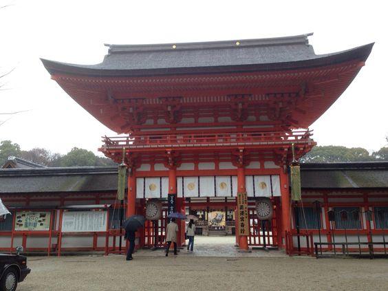 上賀茂神社(世界文化遺産) Kamigamo Shrine(World Heritage) 20140108-2