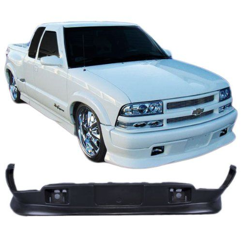 9804 Chevy S10 Pickup Extreme Style Urethane Addon Front Bumper Lip Spoiler Bodykit Spoiler See This Great Product Chevy S10 Chevy Car Hacks