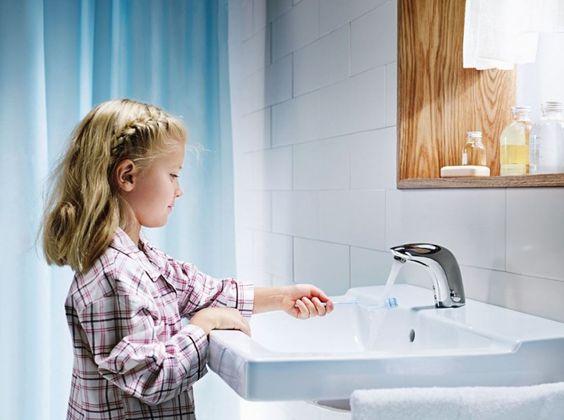 Je badkamer kidsproof inrichten? Dat doe je zo!  Badkamer ideeën ...