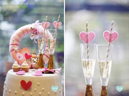 DIY mariage, décoration mariage  http://lamarieeencolere.com/post/34215741212/pailles-mariage#