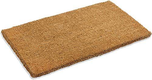 New Kempf Natural Coco Coir Doormat 24 Inch 60 Inch 1 Thick Low Online In 2020 Coir Doormat Outdoor Door Mat Door Mat