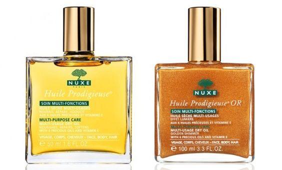 Meus produtos de beleza favoritos da Nuxe marca francesa que faz sucesso mundial pelas suas fórmulas naturais, óleos vegetais.