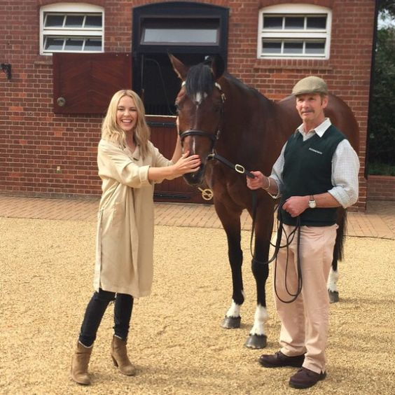 8 Celebrities Horsing around on Instagram  Wow... I met #Frankel, undefeated champion!! It's horse fever! Giddy up! Excited for tonight's show