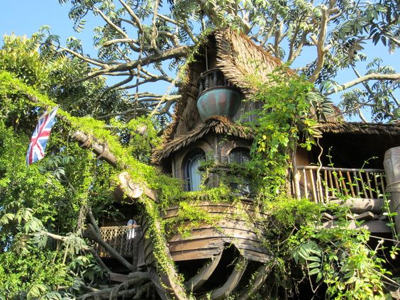 Tarzan's Treehouse by TheWiseOldMonkey