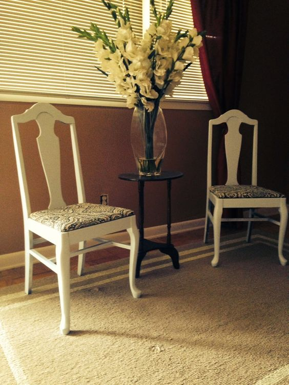 Our life on a budget… Do it Yourself Refinished Chairs!