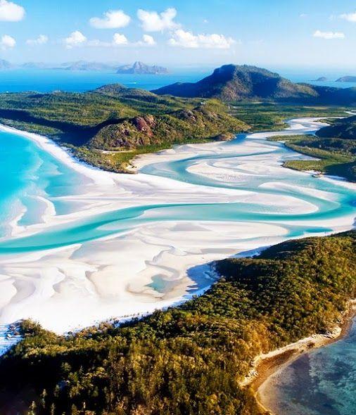 Уайтхейвен Бич, остров Уитсандей, Австралия