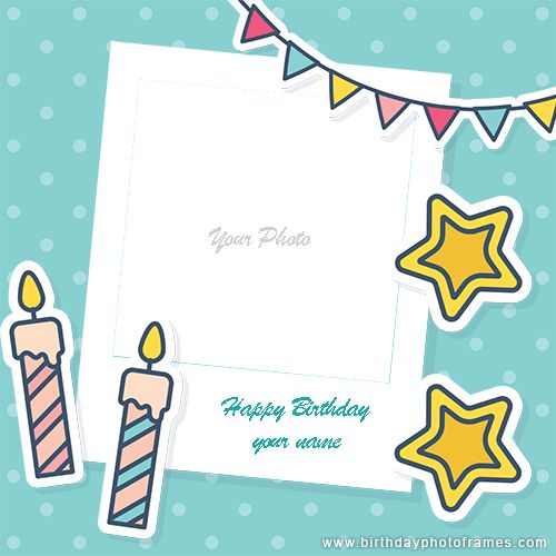 Create A Personalized Birthday Card With Photo Editing In 2021 Happy Birthday Photos Birthday Card With Photo Birthday Card Design