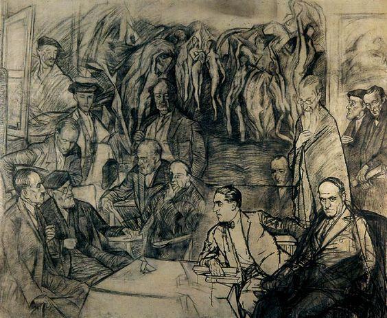 Zuloaga Mis amigos 1920 36