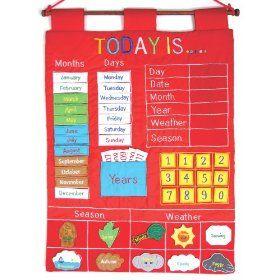 Calendar felt and free printables on pinterest for Calendar bulletin board printables