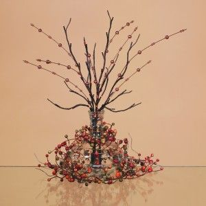 Branch Decorating Ideas More Decorating Ideas With Lighted Branches And Floral Stems 5