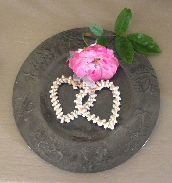 A personal favourite from my Etsy shop https://www.etsy.com/uk/listing/270652846/pretty-hammered-pewter-plate-decorative
