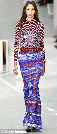Going back to my roots!Mary Katrantzou's SS17 collection fused her Greek…