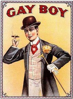 Gay Boy Tobacco: Nice fag...