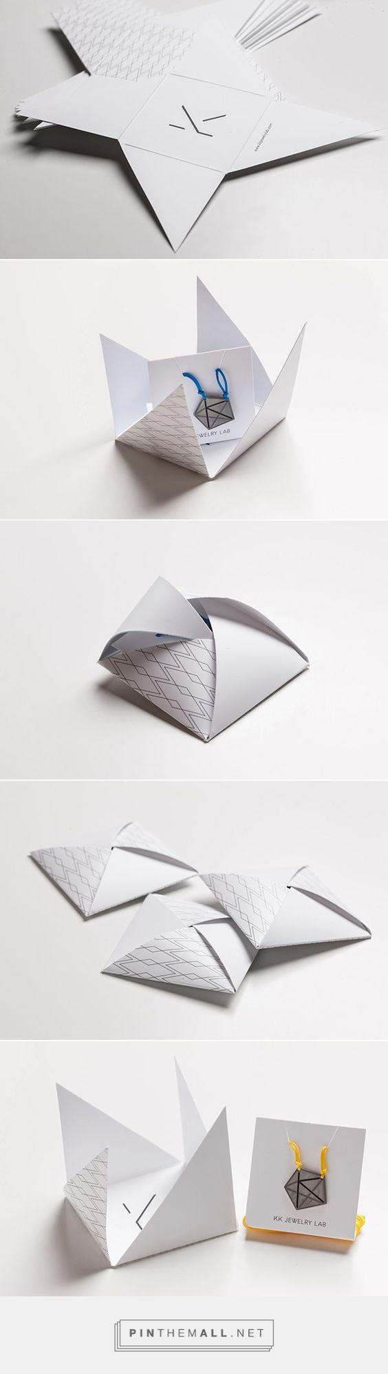 KK handmade jewelry packaging Maria Romanidou