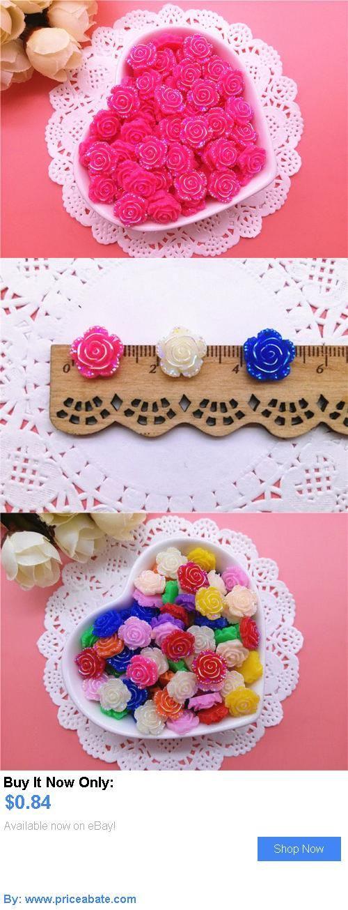 DIY Crafts: New 20Pcs Red Ab Resin Rose Flatback Scrapbooking For Phone/ Wedding/ Craft Diy BUY IT NOW ONLY: $0.84 #priceabateDIYCrafts OR #priceabate