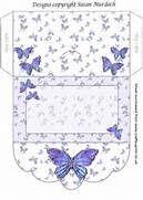 Gift Envelope/money Wallet - Butterflies by Susan Murdoch