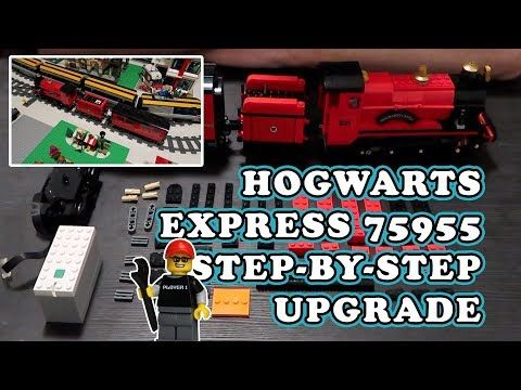 This Is A Requested Video Show Step By Step How I Motorized The Lego Hogwarts Express Train And Includes A In 2021 Lego Hogwarts Hogwarts Train Hogwarts Express Train