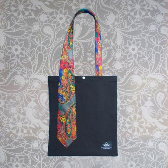 einfache krawattentasche