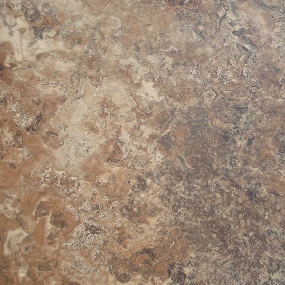 Shop stainmaster 18 in x 18 in groutable corsica cavern for Industrial stone vinyl tile