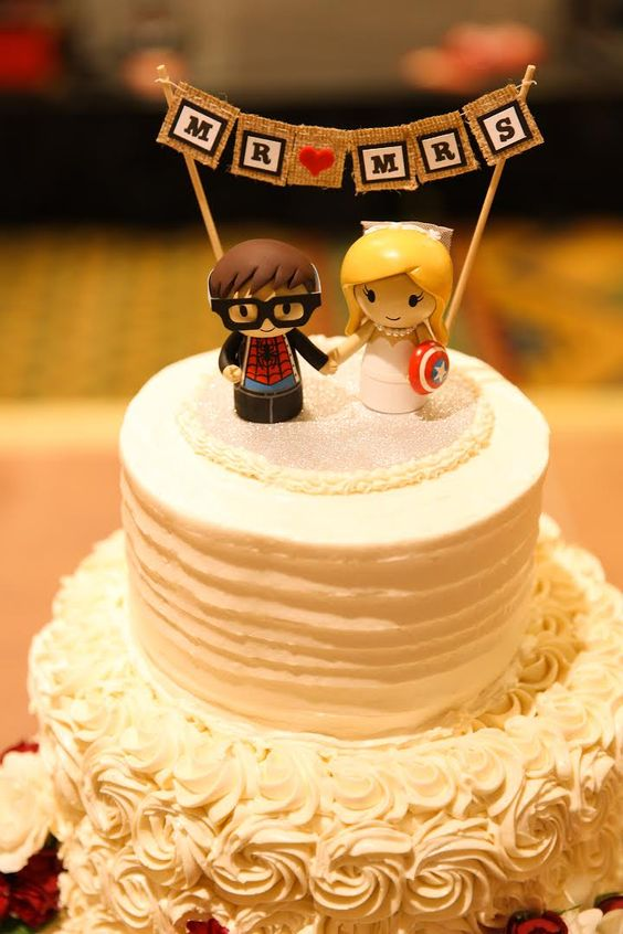 Cake toppers by Genefy Playground https://www.facebook.com/genefyplayground: