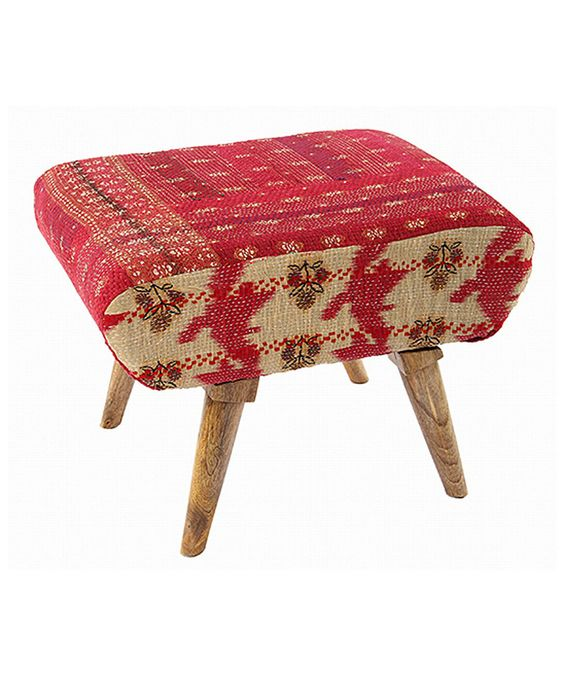 Look at this Red Lounge Ottoman on #zulily today!