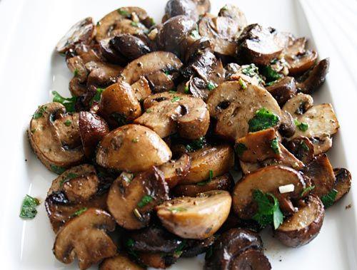 Roasted Mushroom Medley: