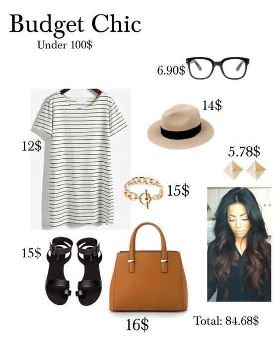 """""""Budget Chic"""" by stephstyle76 ❤ liked on Polyvore"""