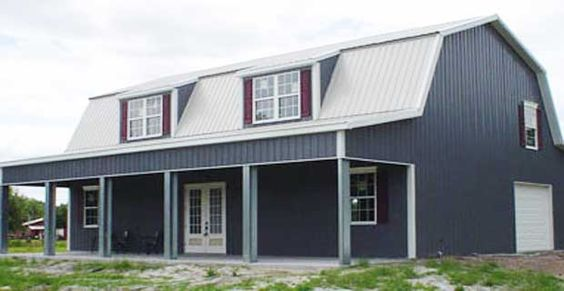 Pictures of metal building houses buy metal building for Prefab barn house kit