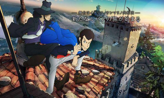 Anunciada nueva película animada de Lupin III