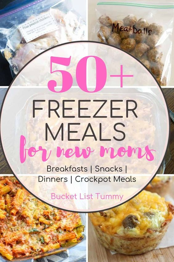 50+ Freezer Meals for New Moms (And Moms To Be)