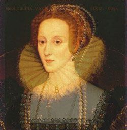 Elizabeth Howard Boleyn, Anne Boleyns mother. How much, Elizabeth I resembles her!