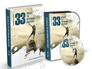 you reed book: 33 Rules To Optimum Success
