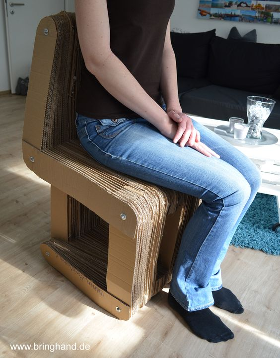 Hält ohne Probleme!  #diy #selbstmachen #upcycling #stuhl #recycling