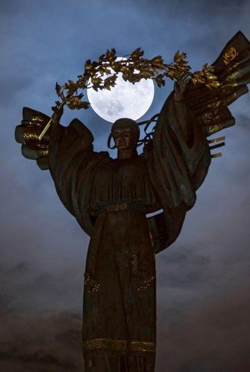 La superluna en el mundo: Ucrania