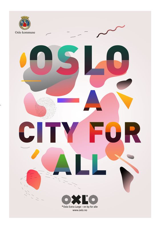 Campaign ads for Oslo municipality.Clients: Oslo kommune, byHands.
