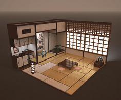 Epingle Par Juju Sur Environment Interior Design Plan De Maison Japonaise Maison Minecraft Maison Traditionnelle Japonaise