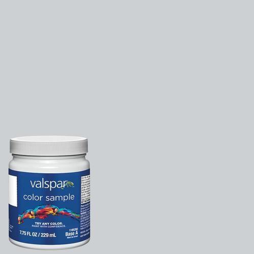 Shop Valspar Silver Leaf Interior Satin Paint Sample Actual Net Contents 8 0 Fl Oz In The Paint Samples Section Of In 2020 Paint Samples Blue Interior Paint Valspar