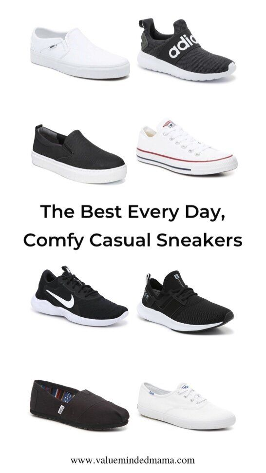 all day comfort sneakers