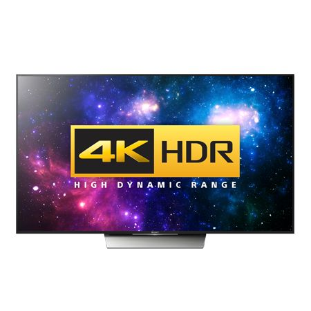 £1749 - 10SEP16 - SONY KD65XD8599BU, 65 Smart LED Ultra HD 4K Android TV with 1000 Hz Processing Rate, 4K HDR, Built-in WiFi & Freeview HD