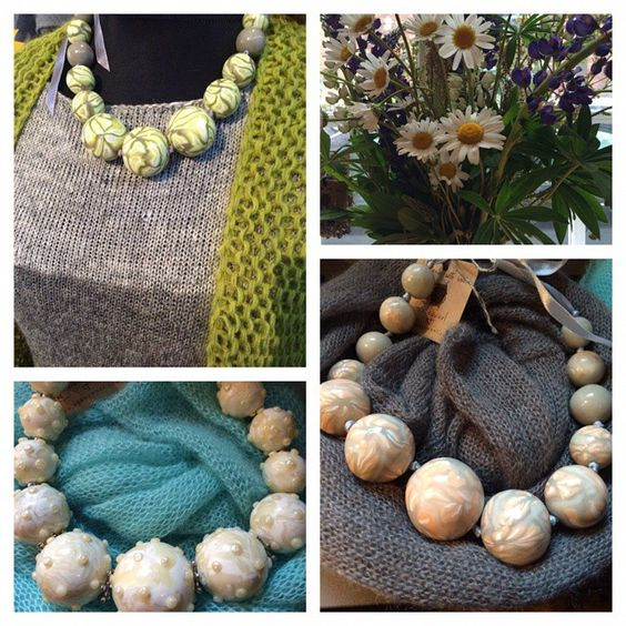 Holiday mood in our shop #midsummer #jewellery # HOBBYWOOL